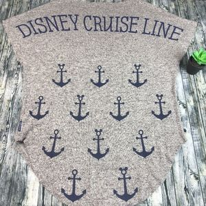 Disney Cruise Line Spirit Jersey Mickey Nautical